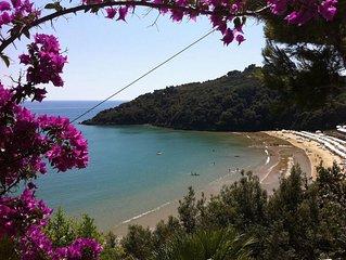 Villa sulla spiaggia con vista panoramica