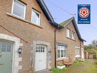 Seaside cottage with enclosed garden, close to beach and SW coastal paths.