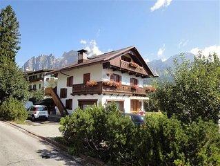 LAST MINUTES 25.07-01.08.2020 appartamento con una splendida vista su Cortina