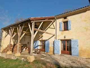 Newly renovated French farmhouse