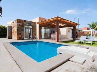 Villa con piscina privada Salobre Villas Terrazas I