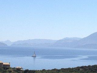 Agios Nikolaos: VUE MER MAISONS PARFAIT POUR LES FAMILLES ET GROUPE D'AMIS/GRAND
