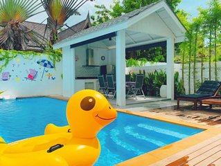Perfect pool villa for family——200meters to the sea