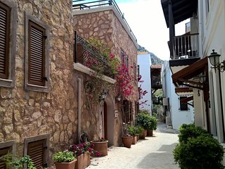Beautiful Village House With Plunge Pool, In The Heart Of Kalkan Old Town