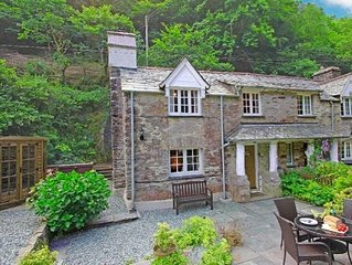 Alice's Cottage, Stands In The Beautiful Wooded Valley At Watergate