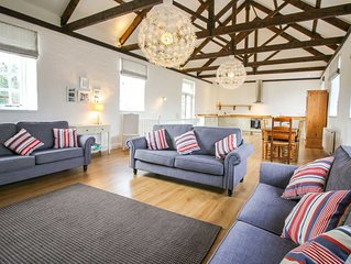 A simply beautiful barn conversion of one of the outbuildings of an historic man