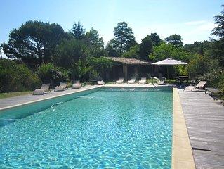 Mt VENTOUX, Grand Mas avec belle  piscine panoramique dans un site privilégié