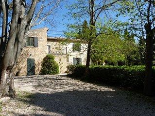 Mas de Casteuse, Lourmarin, parc, piscine,Provence