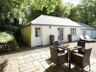 Four and a half miles south of Helston, this delightful cottage is situated on a