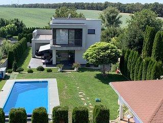 Villa Amelie con piscina