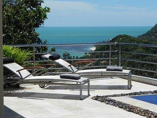 Beautiful Poolvilla with great seaview