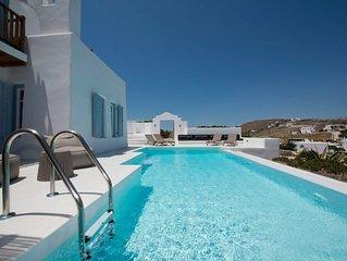 Villa Pearl 3 bedroom Villa in Ornos with private pool