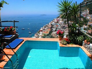 Suite Honeymoon private pool with terrace sea view – WELLNESS FREE PACKAGE