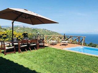 Villa del Saraceno, in zona tranquilla, a 20 minuti da Sorrento, con piscina, 3
