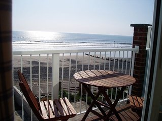 Beach house with spectacular sea views, direct access to beach, glorious sunsets