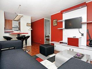Modern, Desing ,2 Bed, 1 beth, Las Condes, Santiago