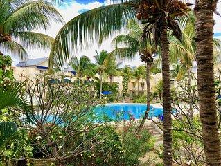 Le Tamier - Duplex bord de mer & piscine