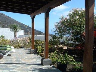 Casa los Viñedos, con vistas al mar y los Volcanes. Fuencaliente De La Palma