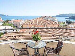 Studio-apartment with sea view 'Charme'
