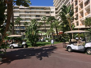 Spacious 1 bed flat for 4 guests , Grand Hotel, in the centre of Cannes