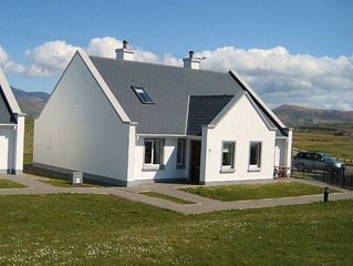 New cottage beside golf course on Dingle Penninsula, Atlantic views