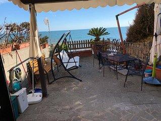 Casa sul mare con accesso privato alla spiaggia