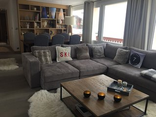 Luxurious apartment 100m from the slopes in Val d'Isere town center