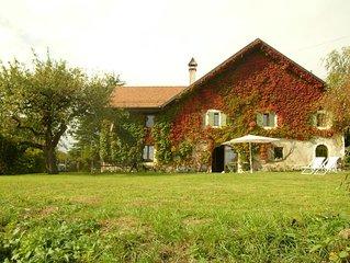Preciosa casa del siglo XVII de 240 M2 con un maravilloso jardin de 2400 m2