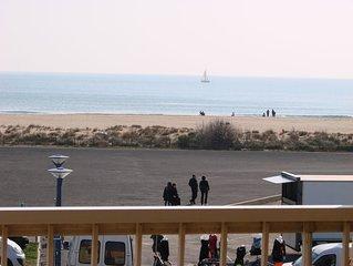 Appartement  lumineux face la mer pour 7 personnes