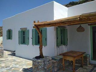 Maison Cycladique et vue de rêve sur la mer