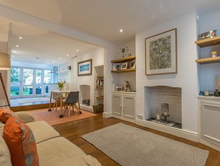 Charming two-bed cottage in central Cambridge with garden