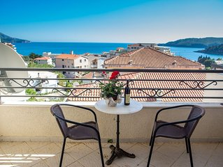 One bedroom apartment with sea view 'Charme'