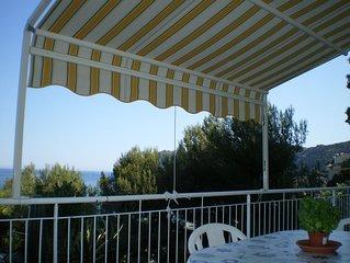 appartamento in villino panoramico vicinissimo al mare
