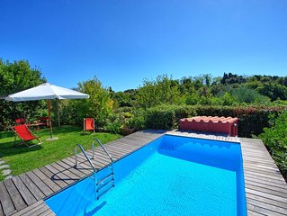 Sweet villa with private pool and 2 bedrooms located in Monte Marcello
