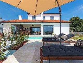 Beautiful villa with private pool near Porec