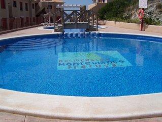 Monte Blanco, La Manga, Air Con, 2 Bed Apartment, 5 Mins Beaches