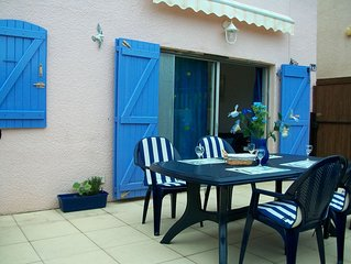 Villa ideally situated, quiet residence 10 minutes walk to the beach and golf