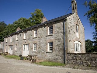 A lovingly restored courtyard, originally built to house working animals in 1860