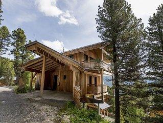 Quiet Chalet in Turracherhohe with Sauna and Jacuzzi
