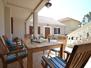 Spacious Holiday Home in Privlaka with Garden