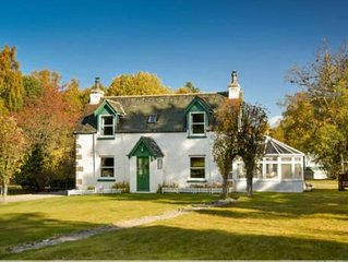 A Traditional Cottage, family friendly with large garden in private grounds.