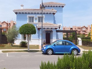 Luxury Villa with Pool, air conditioning and Wi-Fi  on Mar Menor Golf Resort