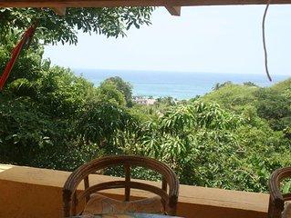 Petite maison avec vue sur mer - Mazunte
