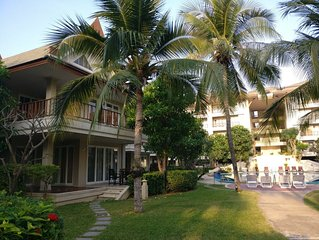 Large 3 Bed Beach Villa Overlooking Pool With Private Spa. Perfect for families