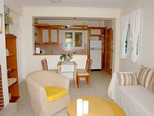 Barbati Bay Two-Bedroom Apartment directly at Barbati Beach