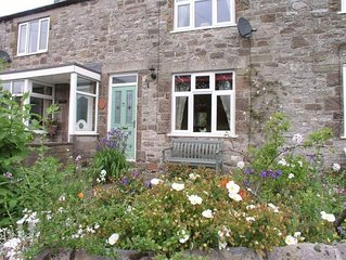 Deceptively spacious cottage with a superbly furnished interior in Bradford Dale
