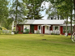 Cosy cottage by lake in Valbo-ryr Dalsland