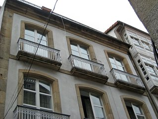 Vivienda con encanto en el casco historico de Santiago de Compostela