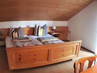 Appartement 5, 55qm, Balkon, 2 Schlafzimmer, max. 6 Personen