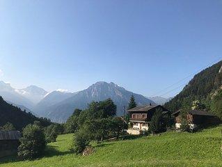 Chalet Kelchbach: Urlaub in den Walliser Bergen (Region Blatten-Belalp)